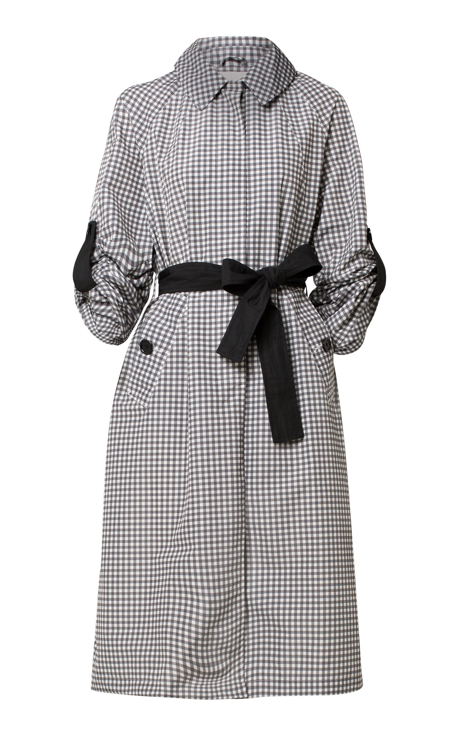 Dorothee Schumacher CHECKERED KNEE COAT
