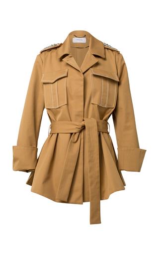 DOROTHEE SCHUMACHER | Dorothee Schumacher Belted Cotton Coat | Goxip