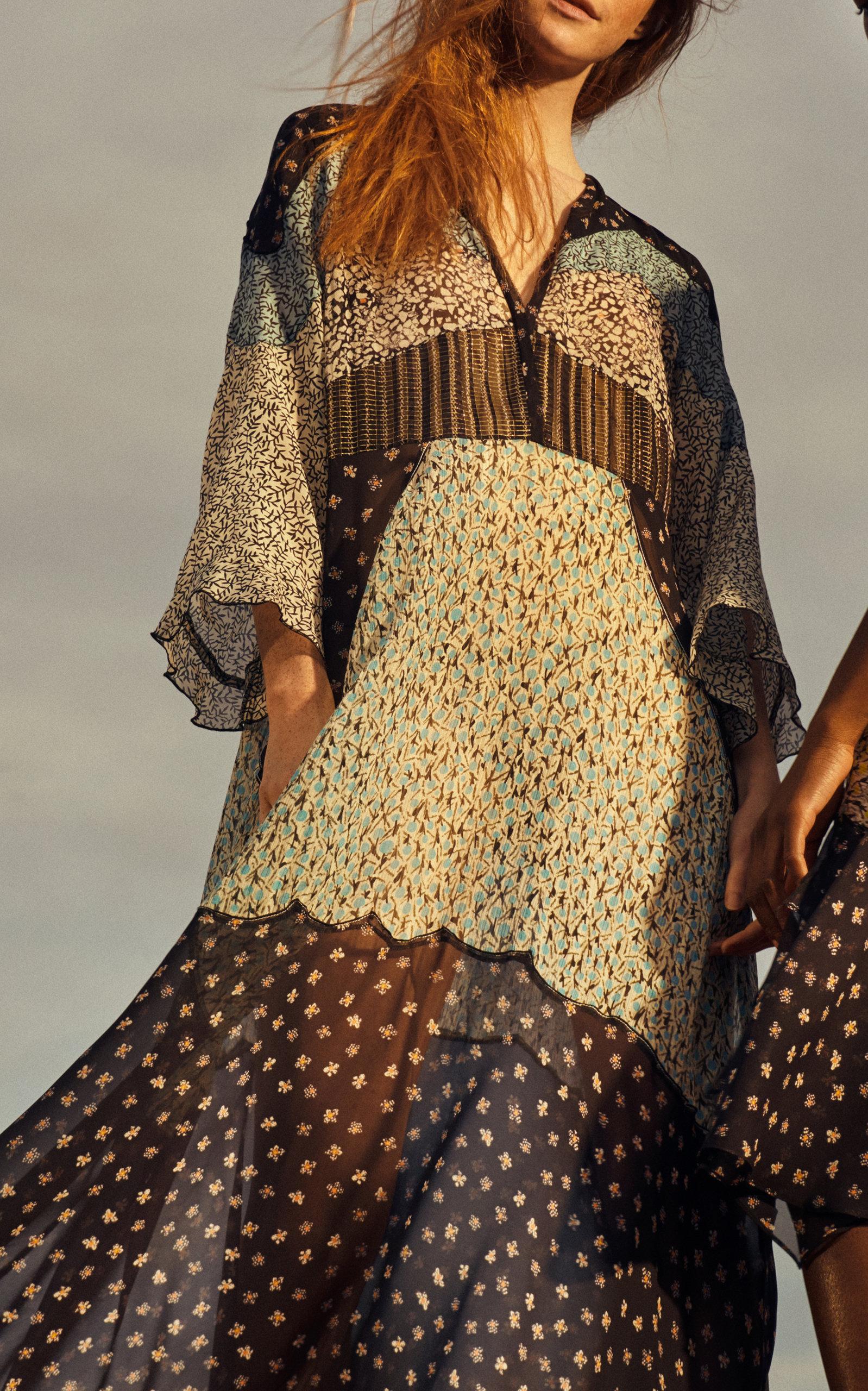 Dress Dorothee Midi Mix Moda Energetic By Printed Operandi zRqFOgBq