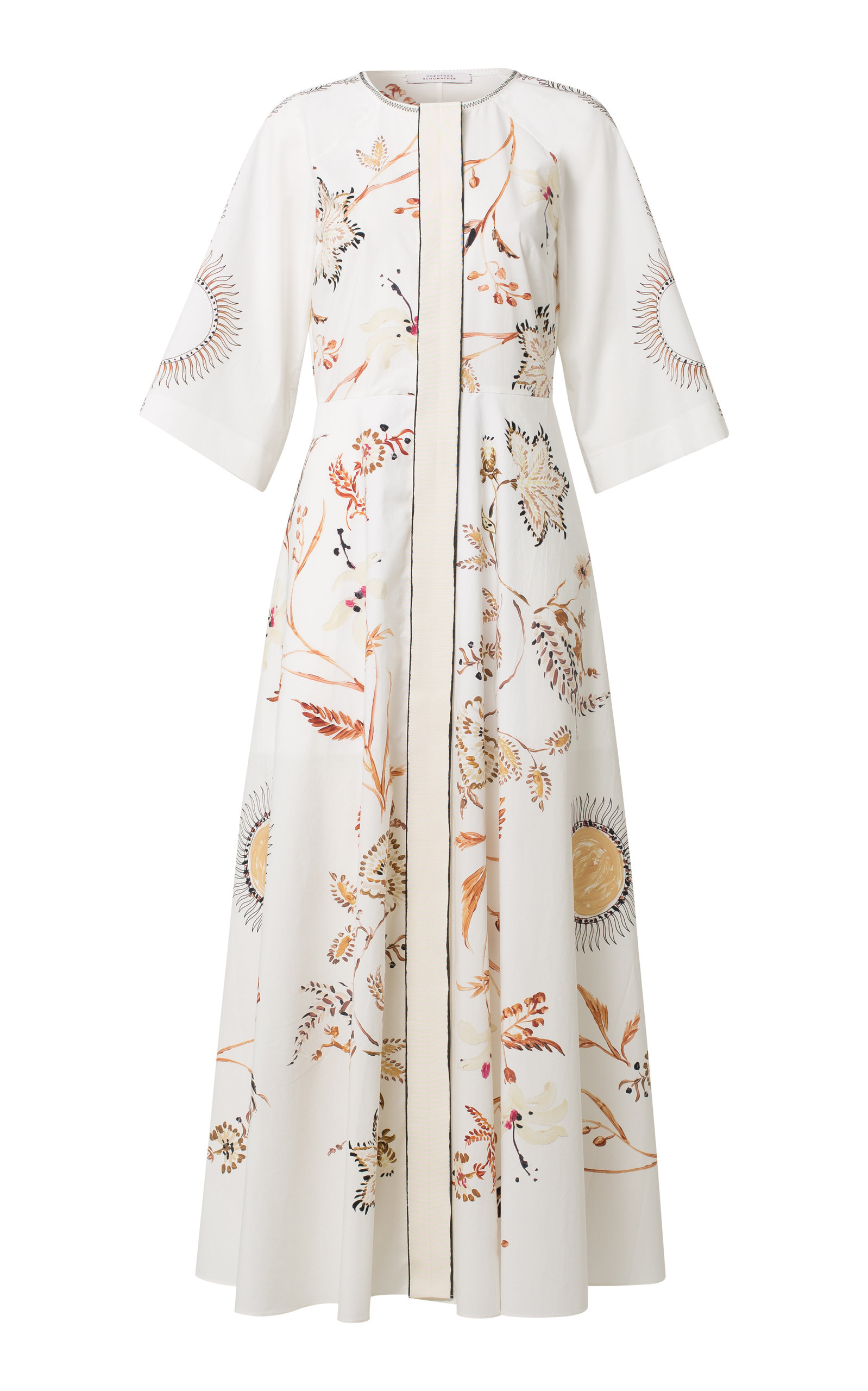Dorothee Schumacher HAVANA DREAM COTTON MAXI-DRESS