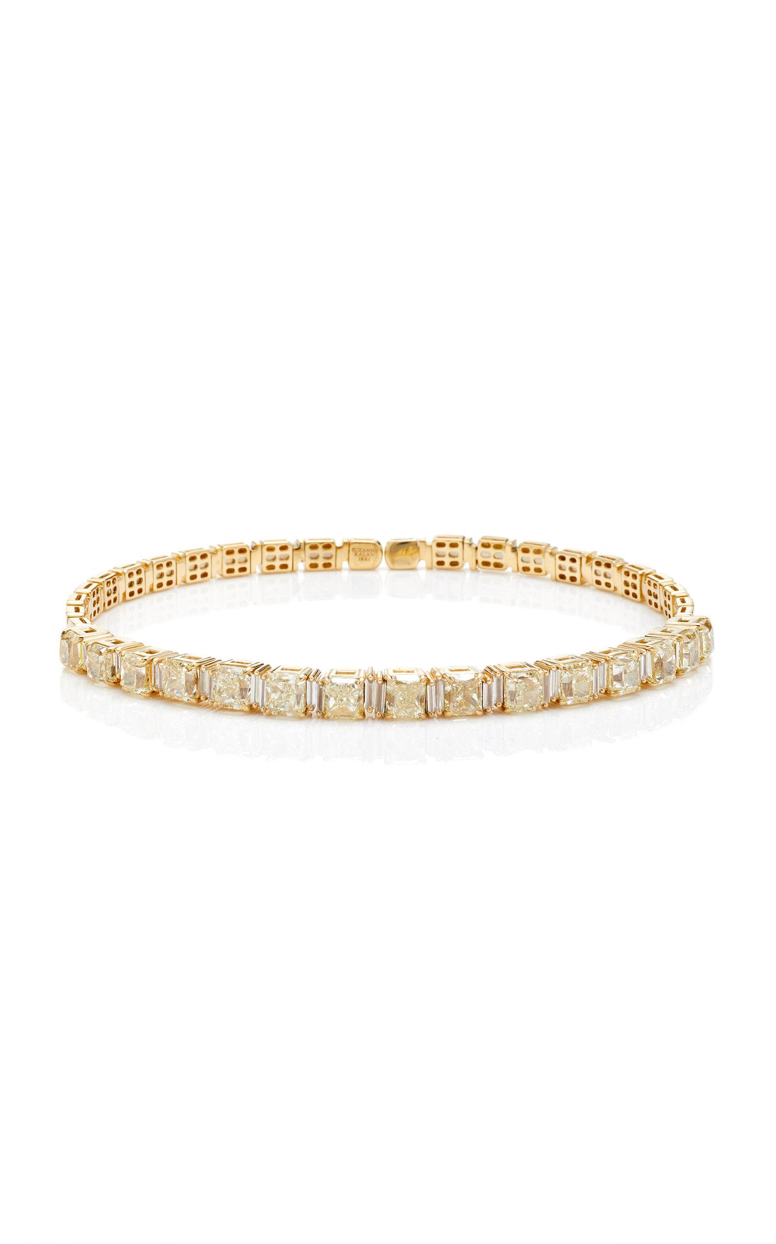 SUZANNE KALAN ONE-OF-A-KIND YELLOW DIAMOND CHOKER