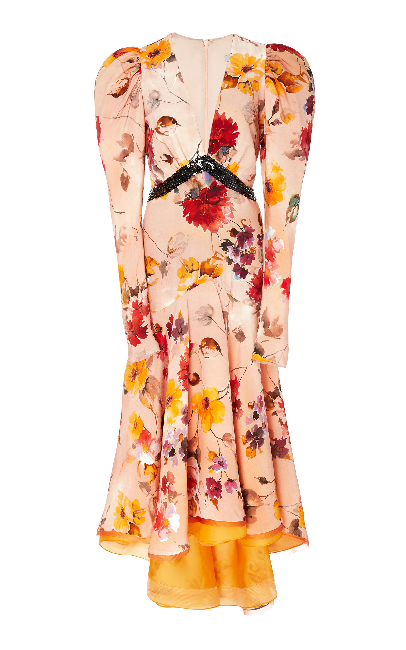 FLORAL POINCIANA DRESS