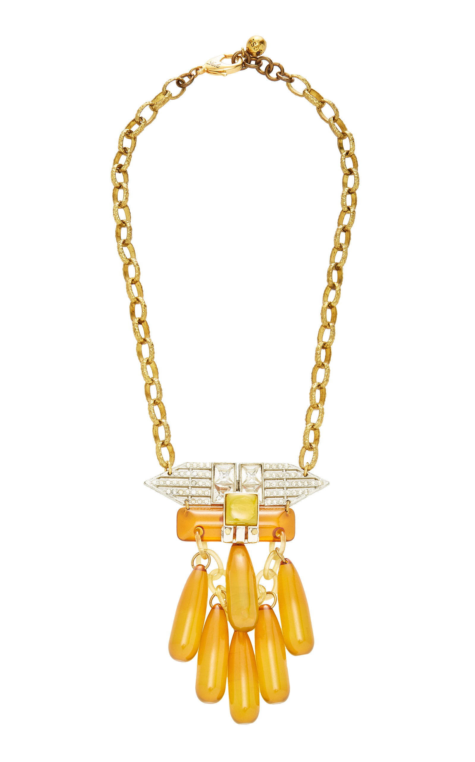 LULU FROST ONE-OF-A-KIND RETRO MODERN NECKLACE
