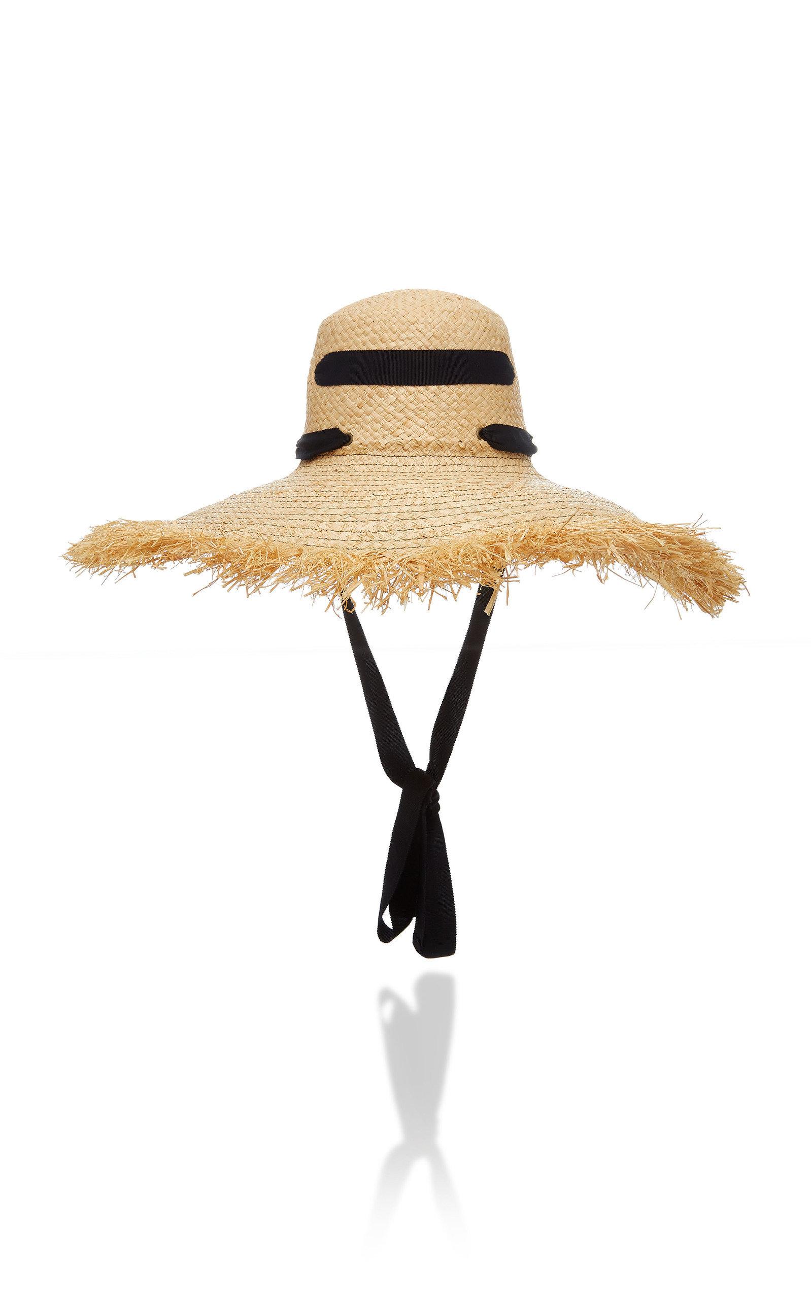 Lola Hats ALPARGATAS FRINGED RAFFIA HAT