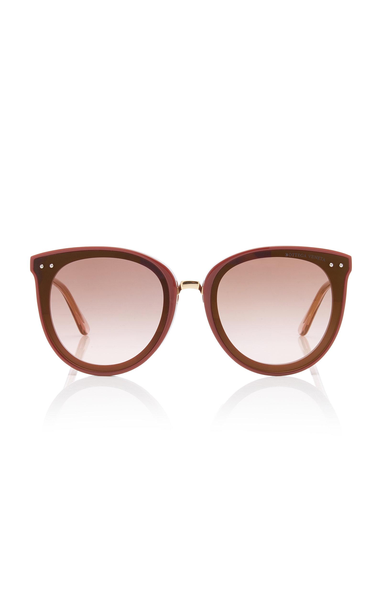 96d016e7d Acetate Cat-Eye Sunglasses by Bottega Veneta Sunglasses | Moda Operandi