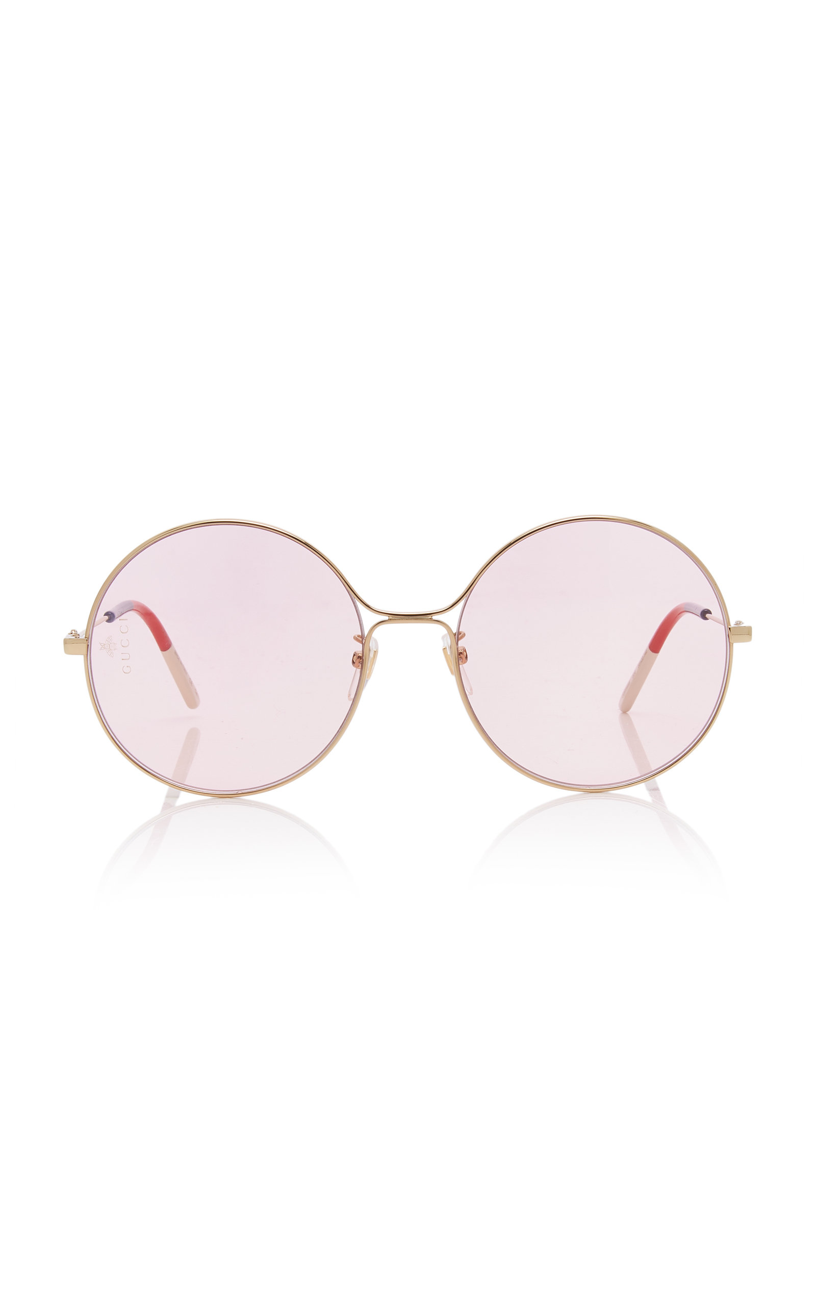 a08e720306694 Gucci Sunglasses Glasant Oversized Metal Round Sunglasses. CLOSE. Loading
