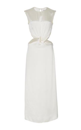 DEITAS | Deitas Olympia Silk Draped Dress | Goxip