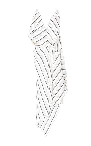 CALCATERRA | Calcaterra Striped Handkerchief Dress | Goxip
