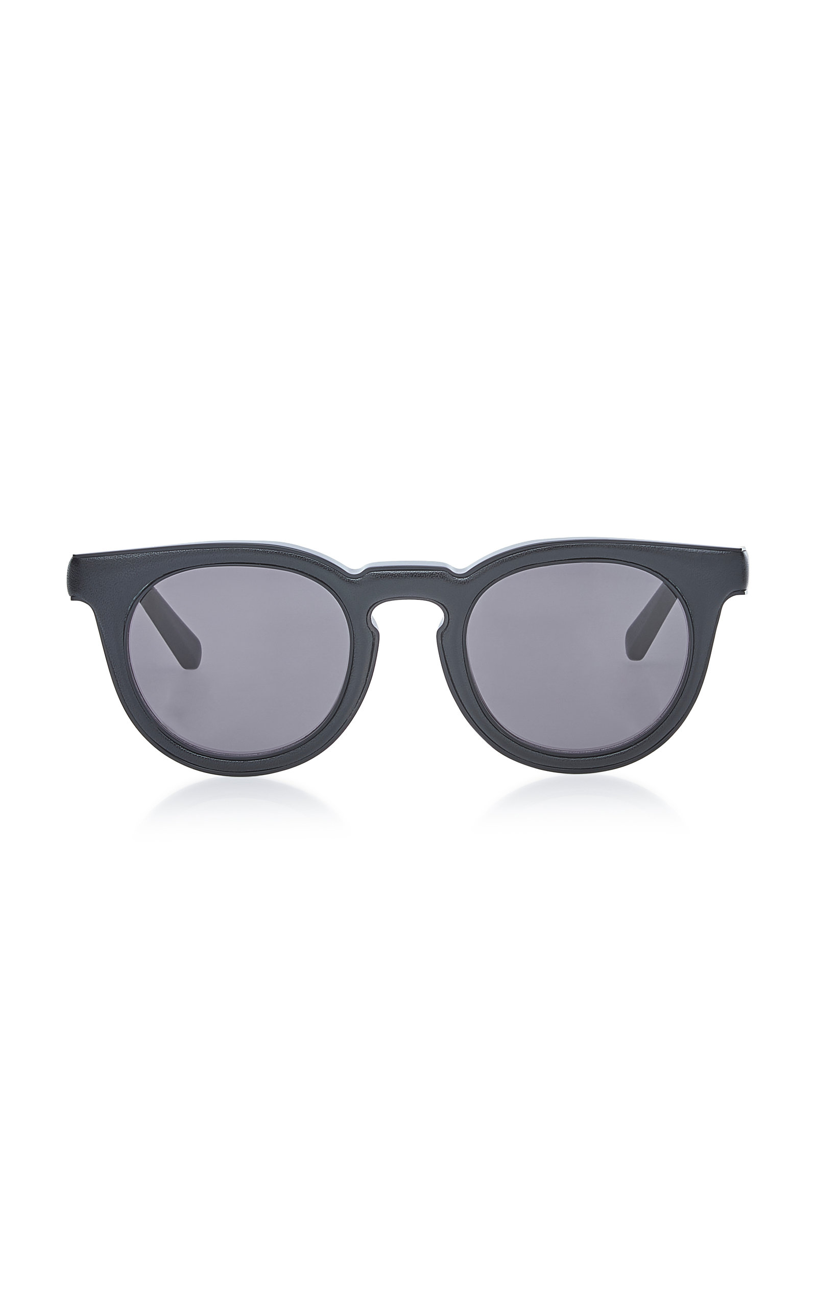 24199cb300e73 Oversized Round Acetate Sunglasses by Loewe Sunglasses