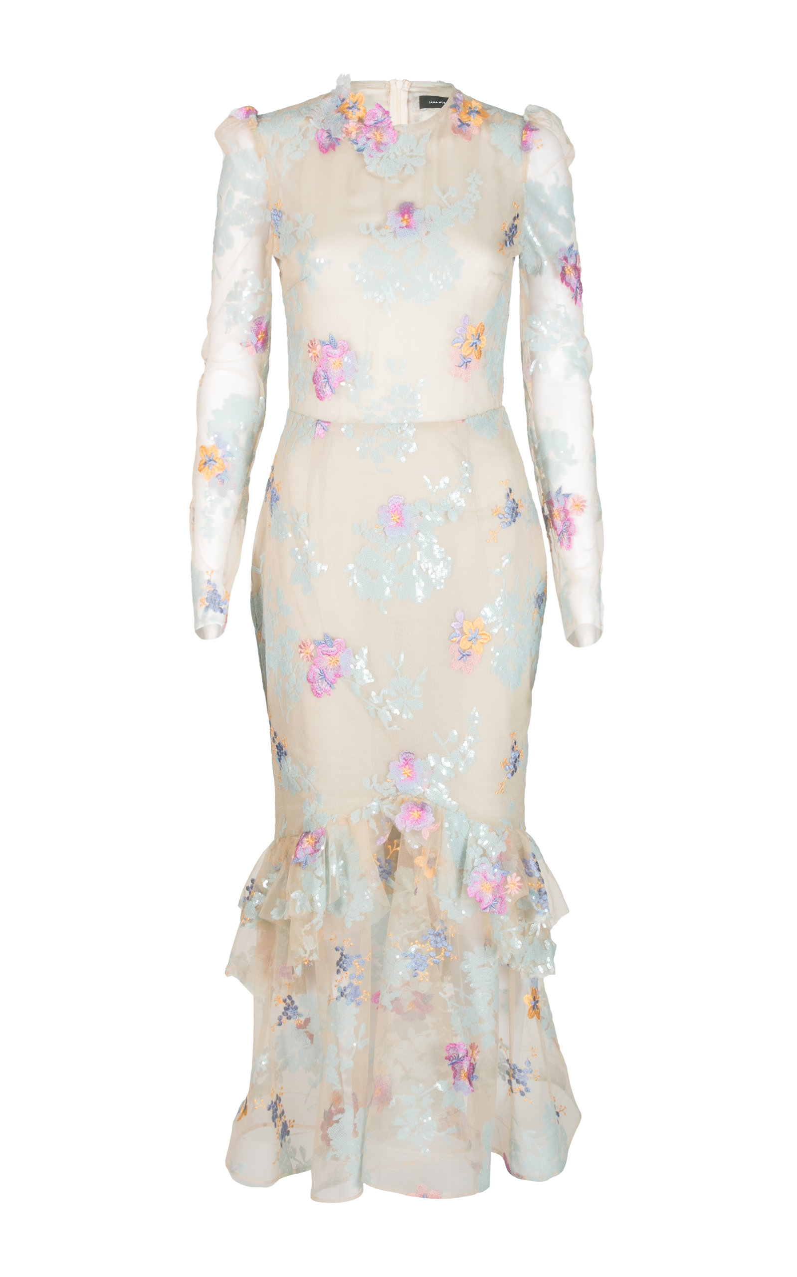 LANA MUELLER YOSAN EMBROIDERED GOWN
