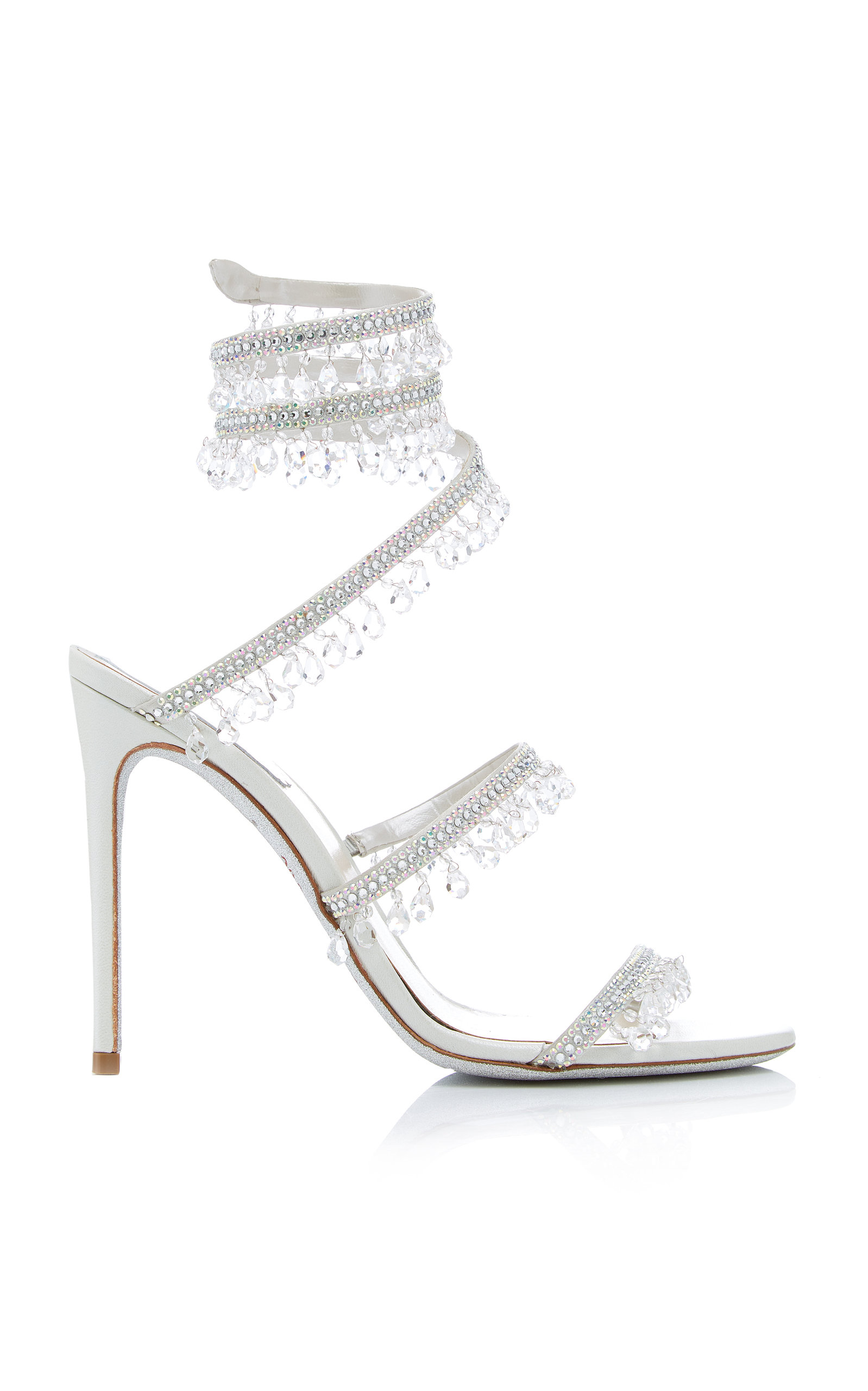 db4db924e Rene CaovillaExclusive Crystal-Embellished Sandal. CLOSE. Loading