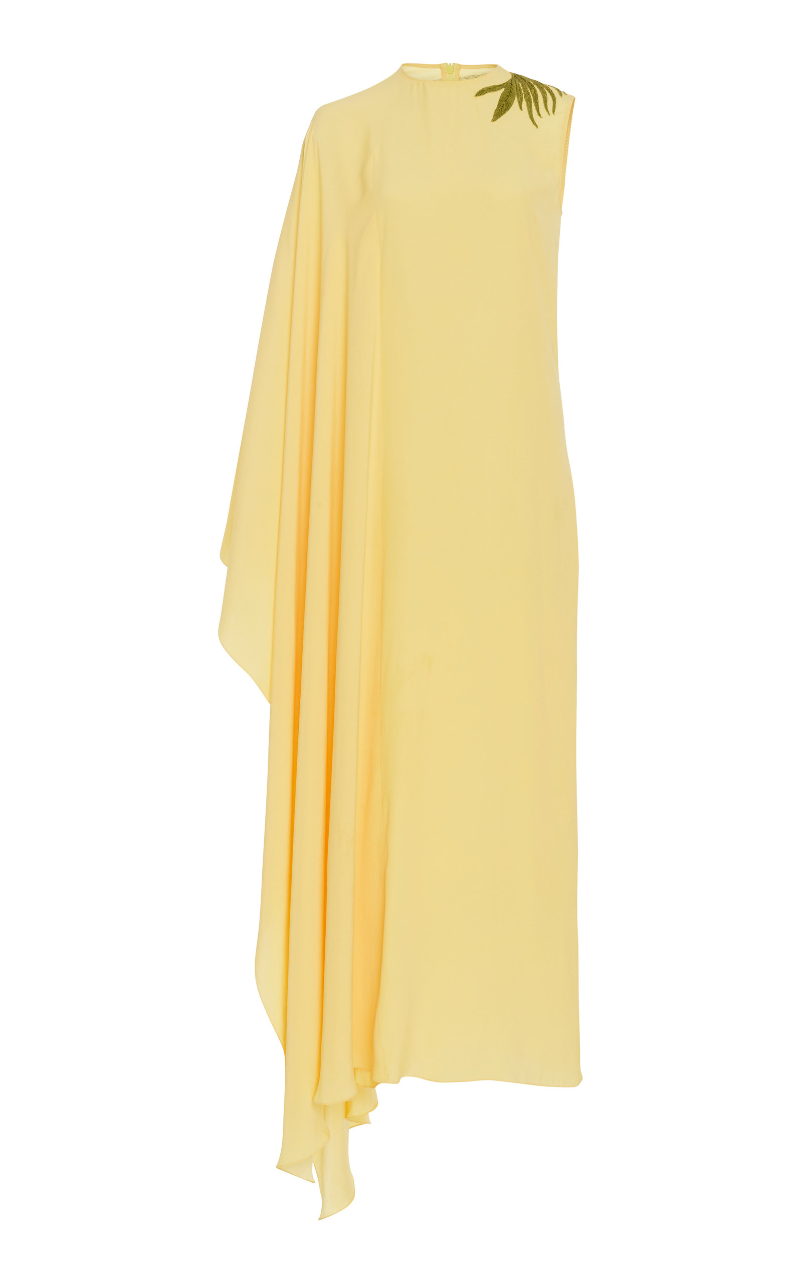 NOON BY NOOR GENE ASYMMETRICAL MAXI DRESS