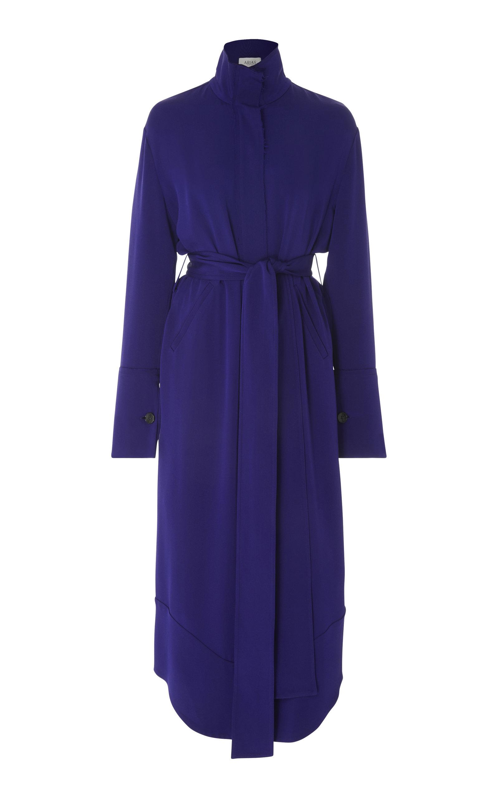 ARIAS SIGNATURE SILK SHIRT DRESS
