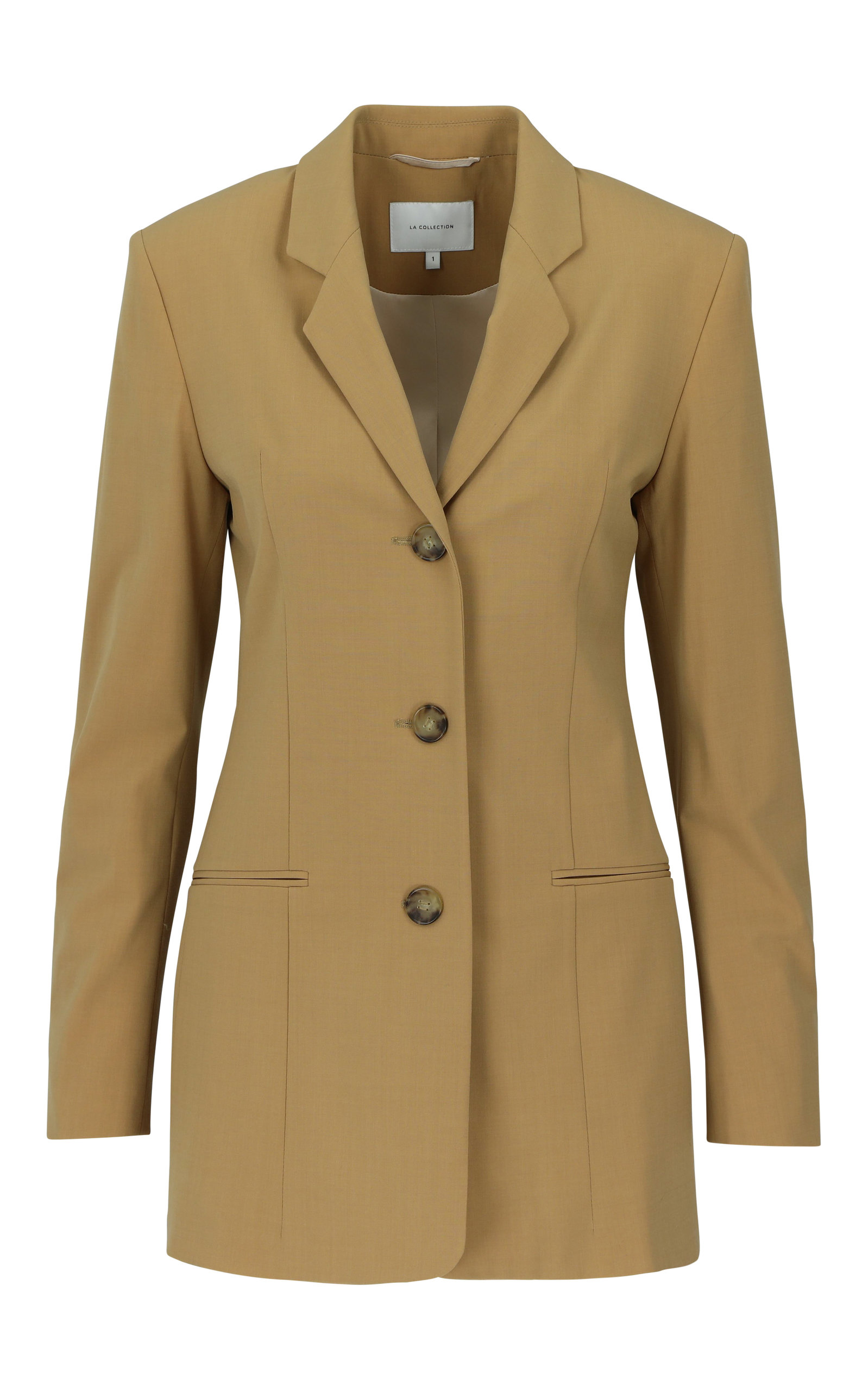 LA COLLECTION ALBA WOOL BLEND BLAZER