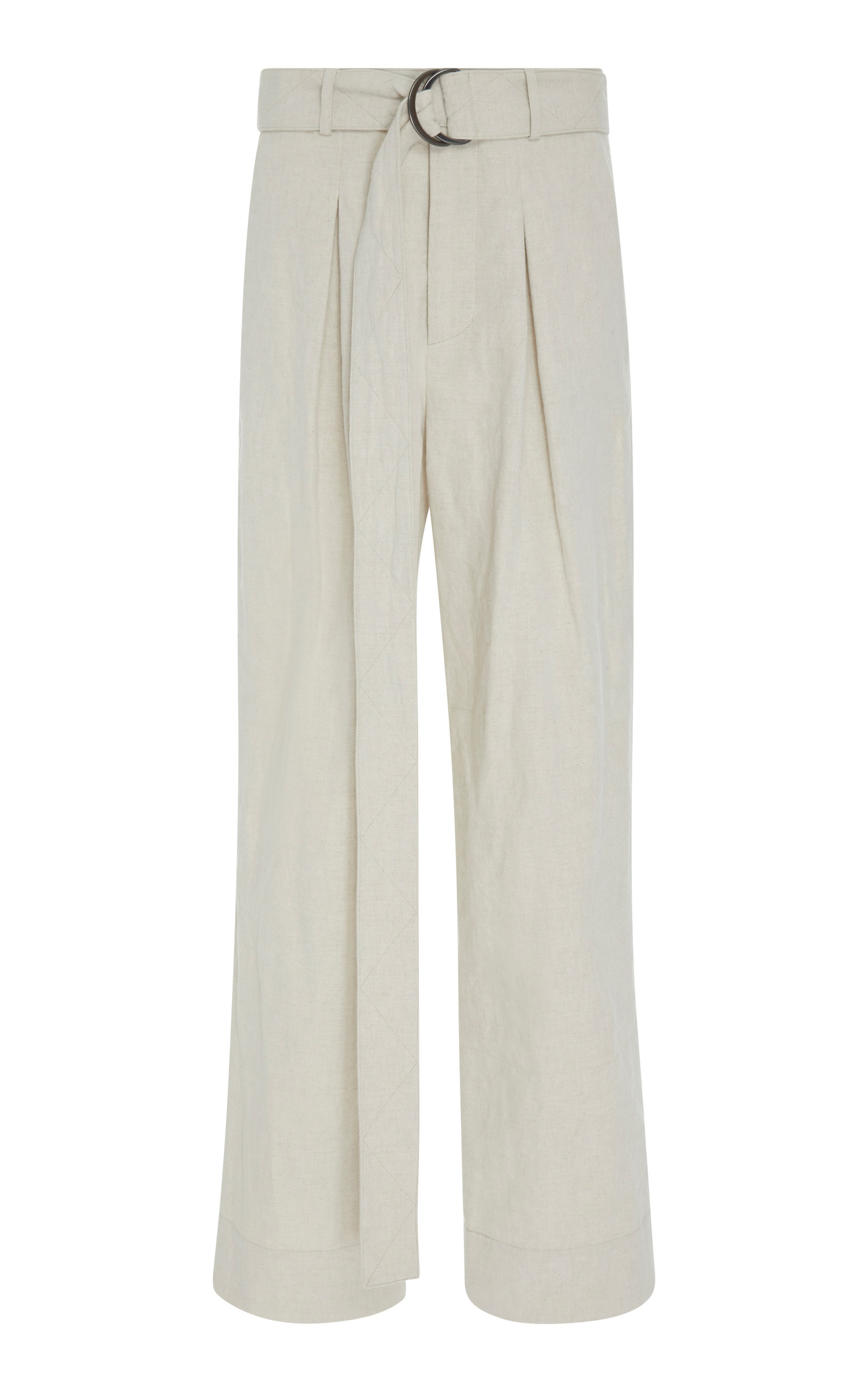 ARIAS BELTED WIDE-LEG PANT