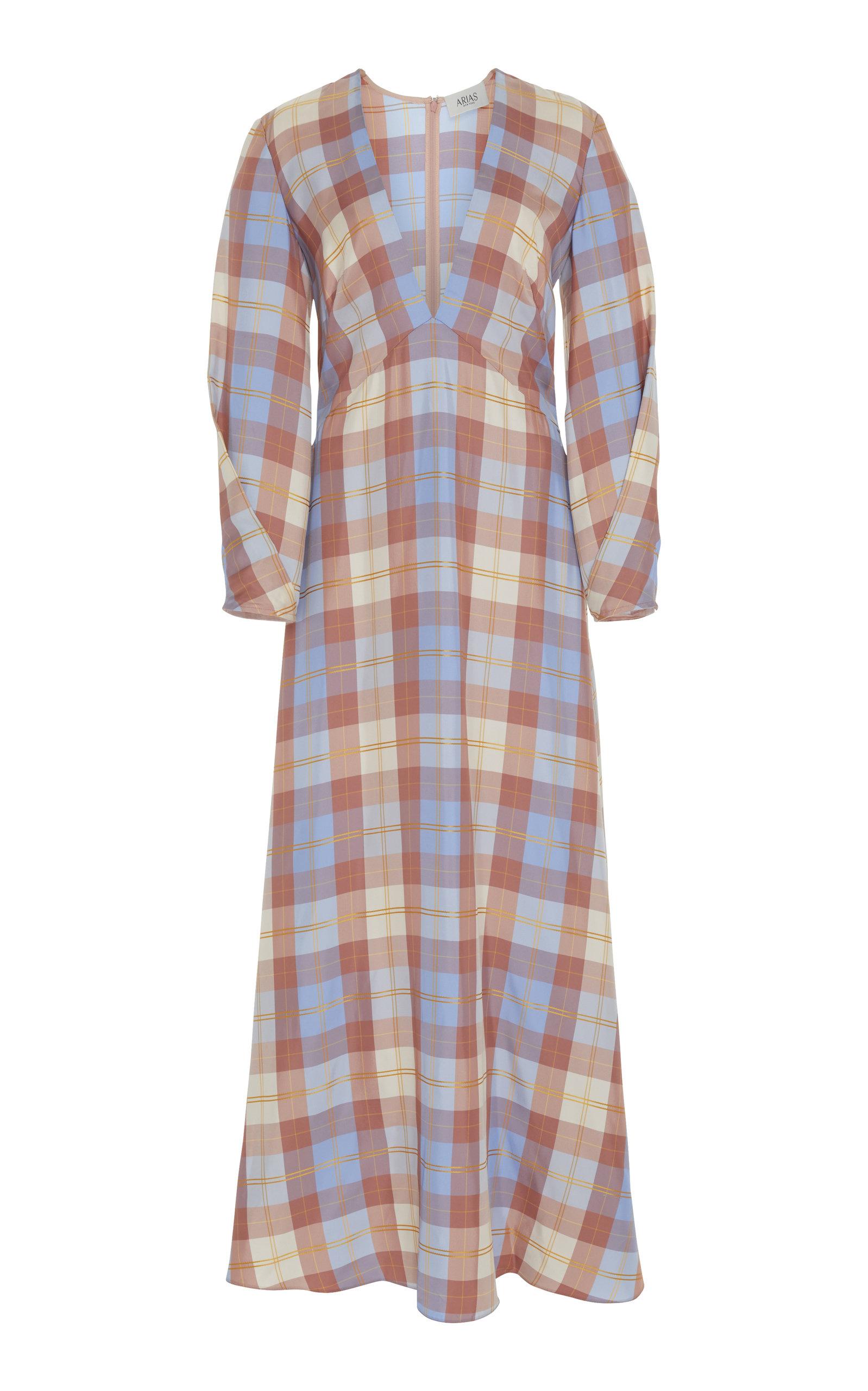 ARIAS PRINTED MAXI DRESS