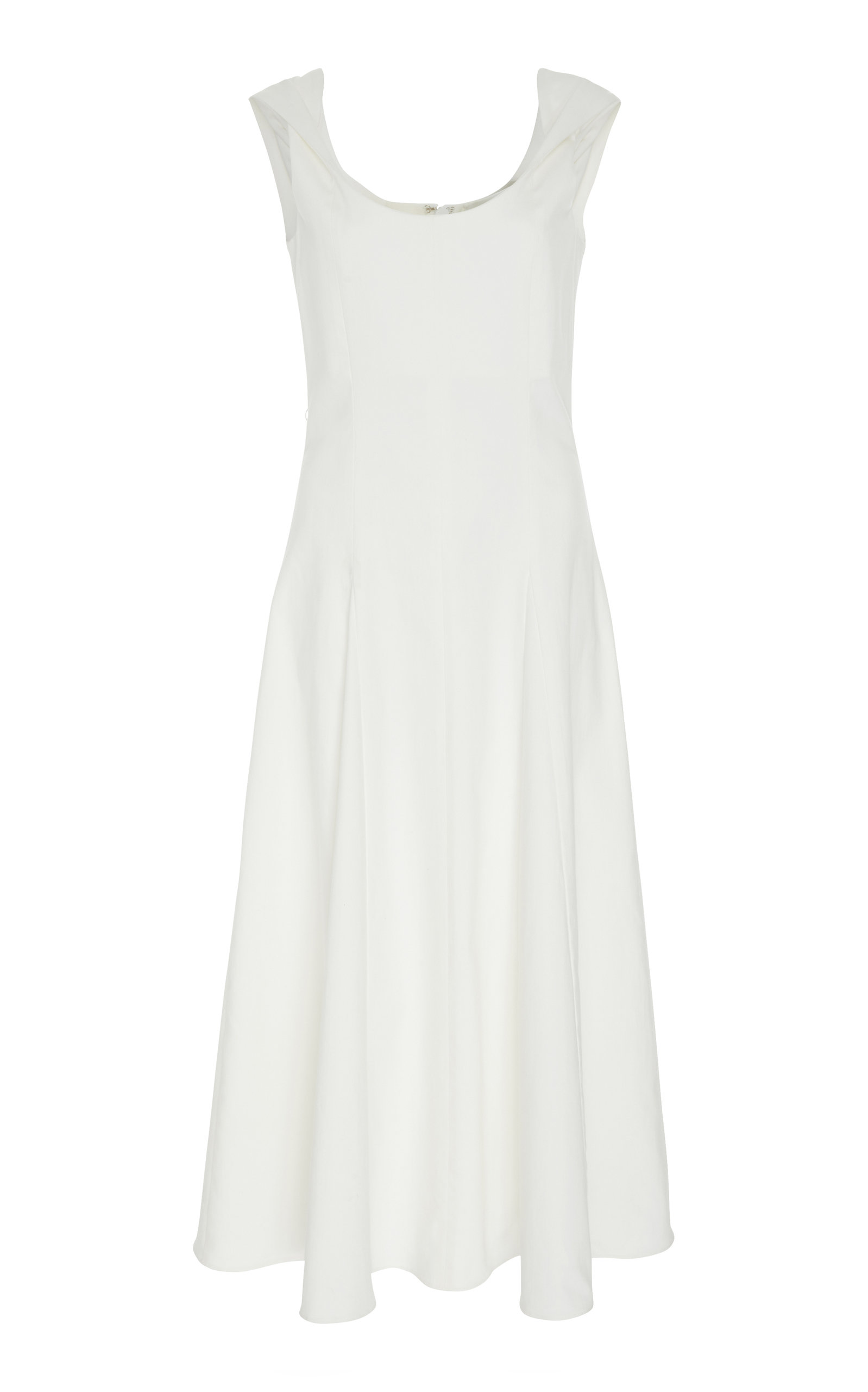 ARIAS SLEEVELESS COTTON BLEND DRESS