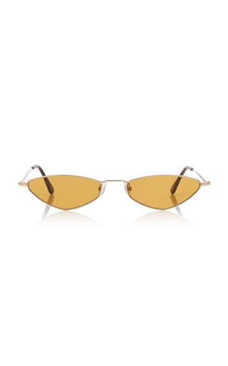 583351ef786 Andy Wolf EyewearEliza Sun Oval-Frame Metal Sunglasses