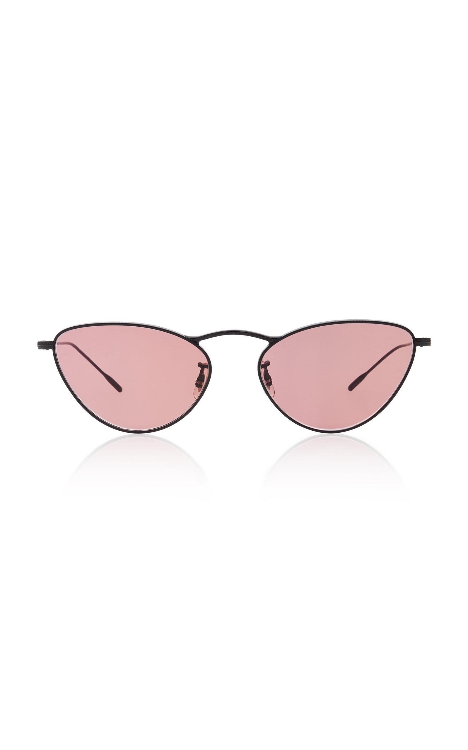f22cbc861051f Oliver PeoplesLelaina Cat-Eye Metal Sunglasses. CLOSE. Loading