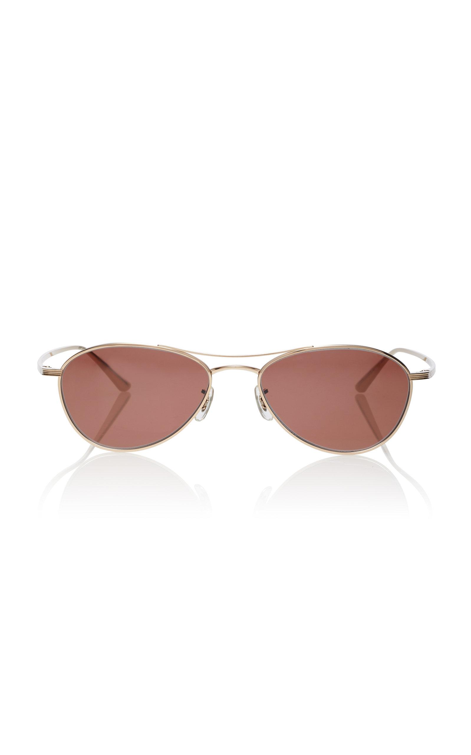 5cb8eaf89a42d Oliver Peoples THE ROWAero LA Aviator Sunglasses. CLOSE. Loading