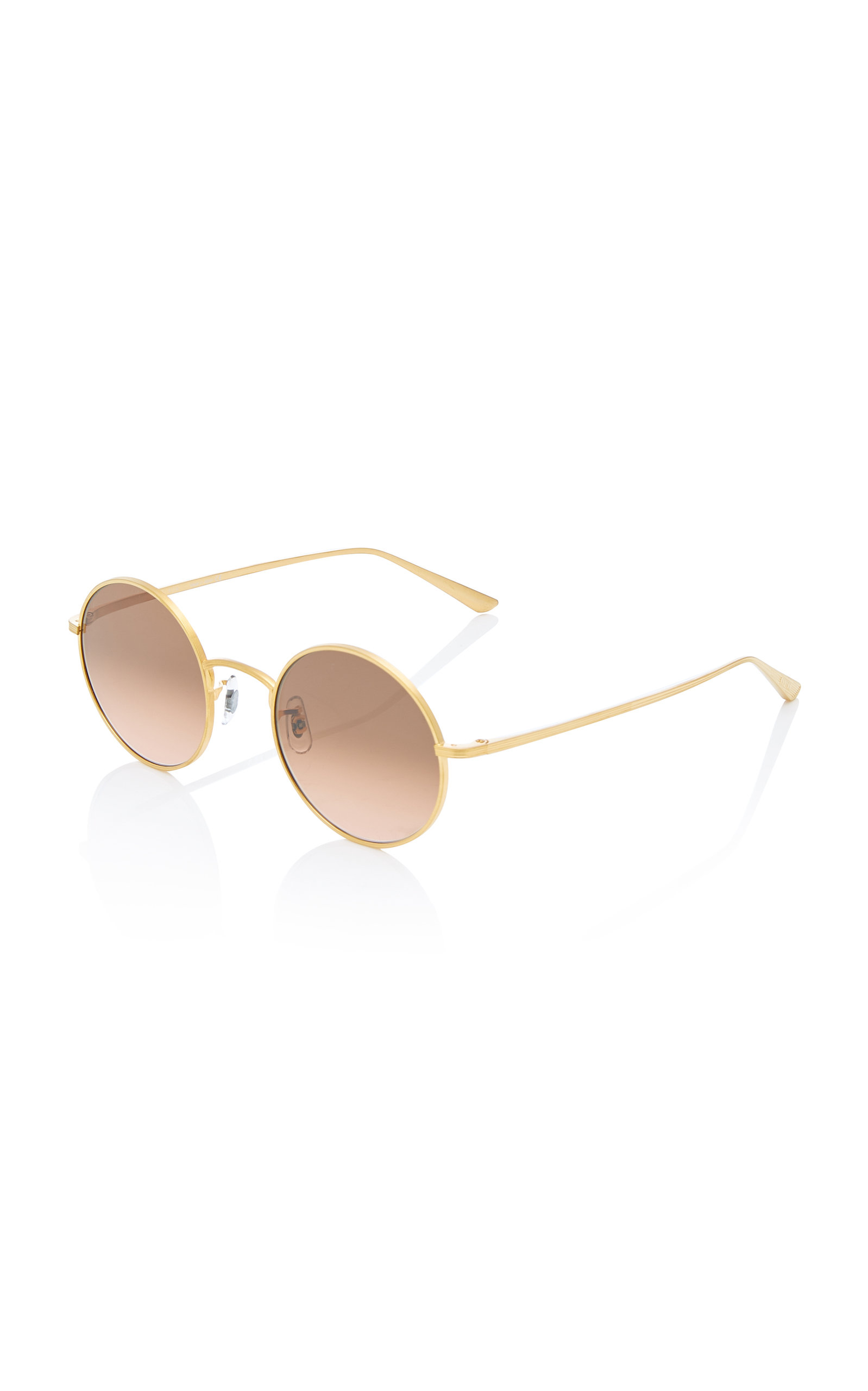 5530b26d22a After Midnight Round Metal Sunglasses by Oliver