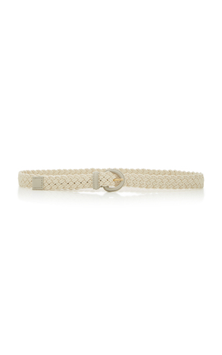 ANDERSON'S   Anderson's Braided Leather Belt   Goxip