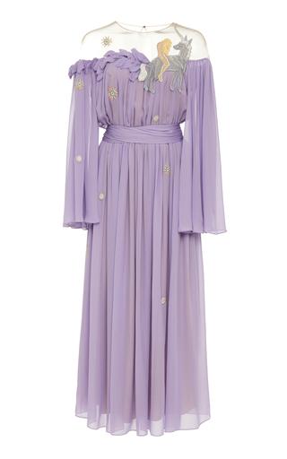 ALENA AKHMADULLINA   Alena Akhmadullina Pleated Silk Dress   Goxip