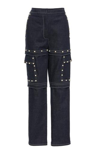 ALENA AKHMADULLINA   Alena Akhmadullina High-Rise Straight-Leg Jeans   Goxip