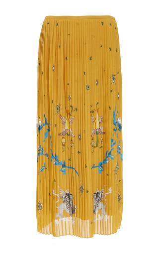 ALENA AKHMADULLINA   Alena Akhmadullina Printed Pleated Skirt   Goxip