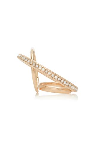 GAELLE KHOURI   Gaelle Khouri Dianoia 9K Gold And Diamond Pinkie Ring   Goxip