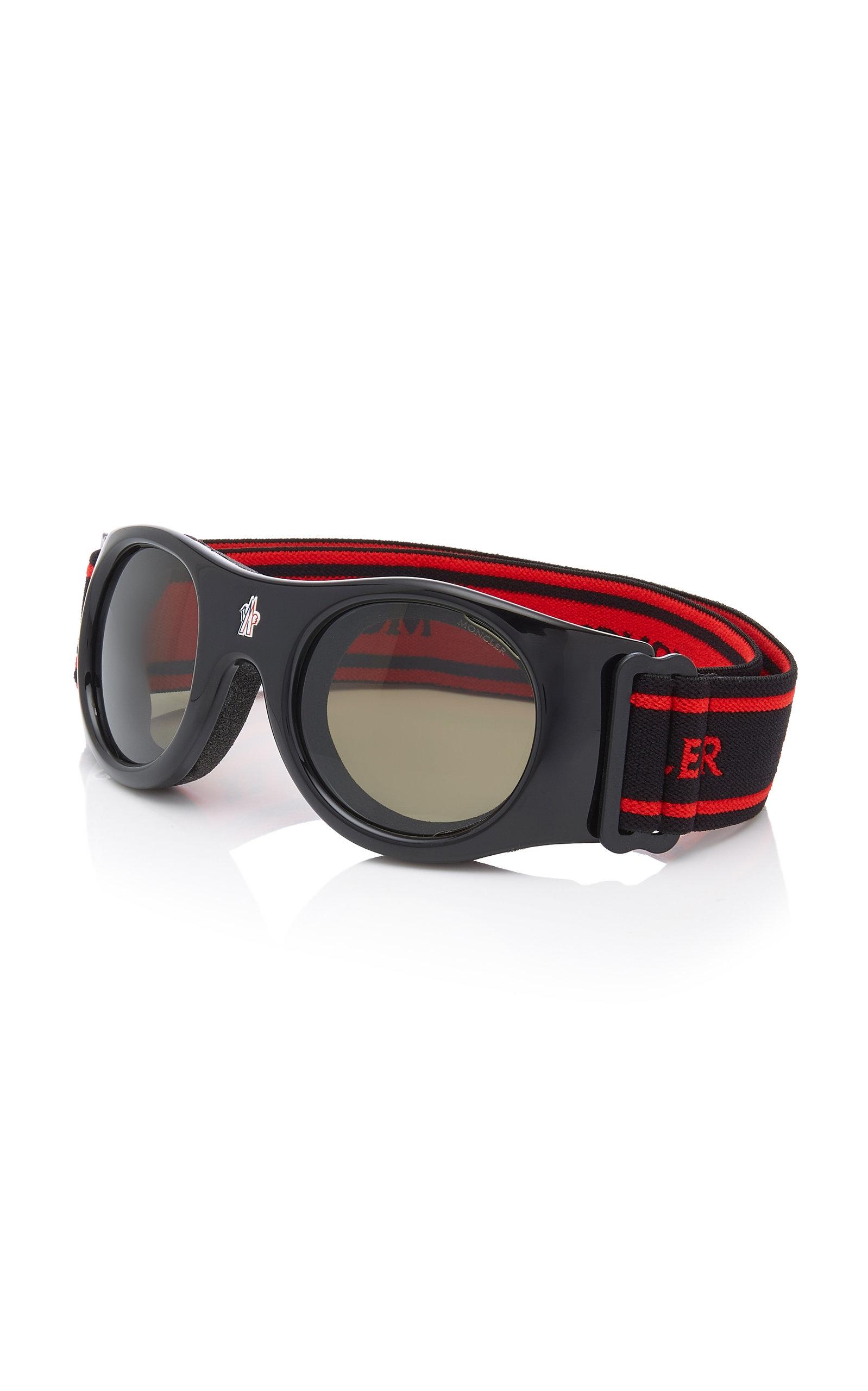 d518826e3da Moncler sunglasses Round-Frame Ski Goggles. CLOSE. Loading. Loading