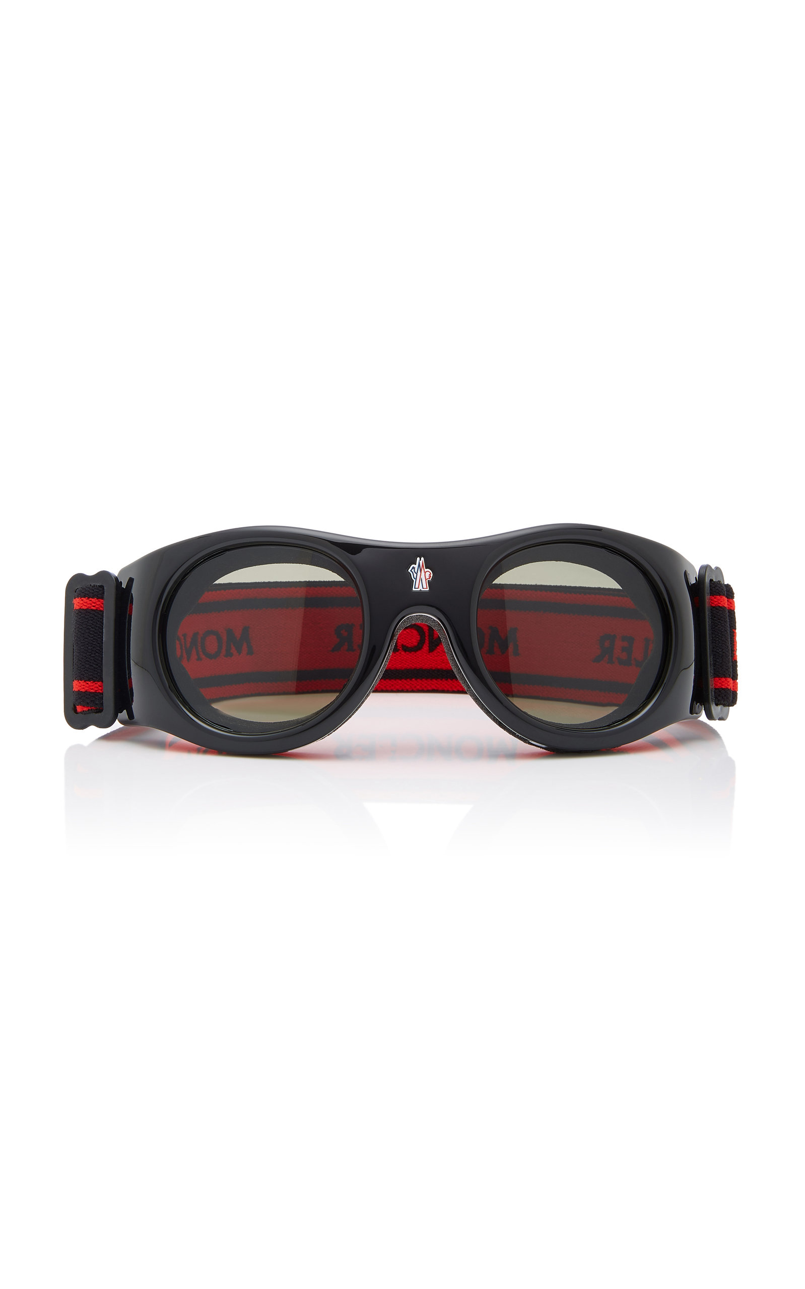 7b8bfd5f3ef Round-Frame Ski Goggles by Moncler sunglasses