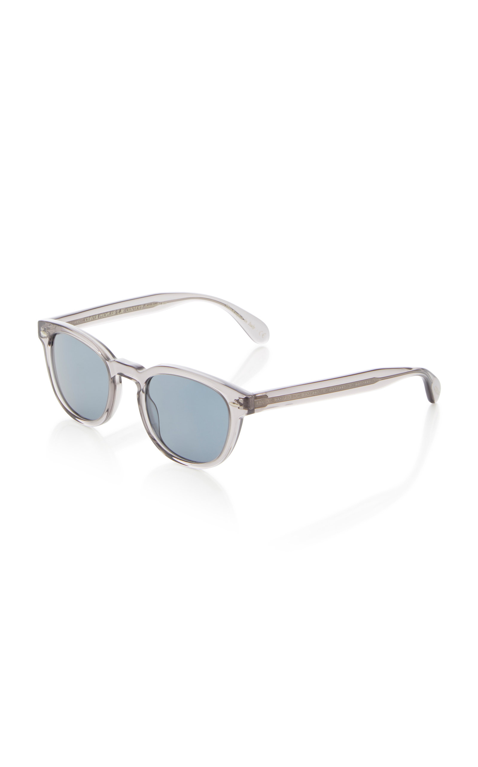 445bff4113 Oliver Peoples Men S Sheldrake Round Photochromic Sunglasses - Workman Gray  In Grey
