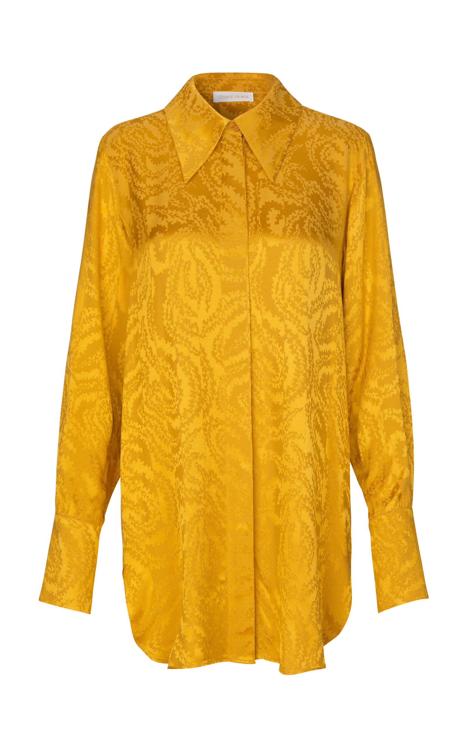Stine Goya CLOTILDE EXAGGERATED COLLAR TOP