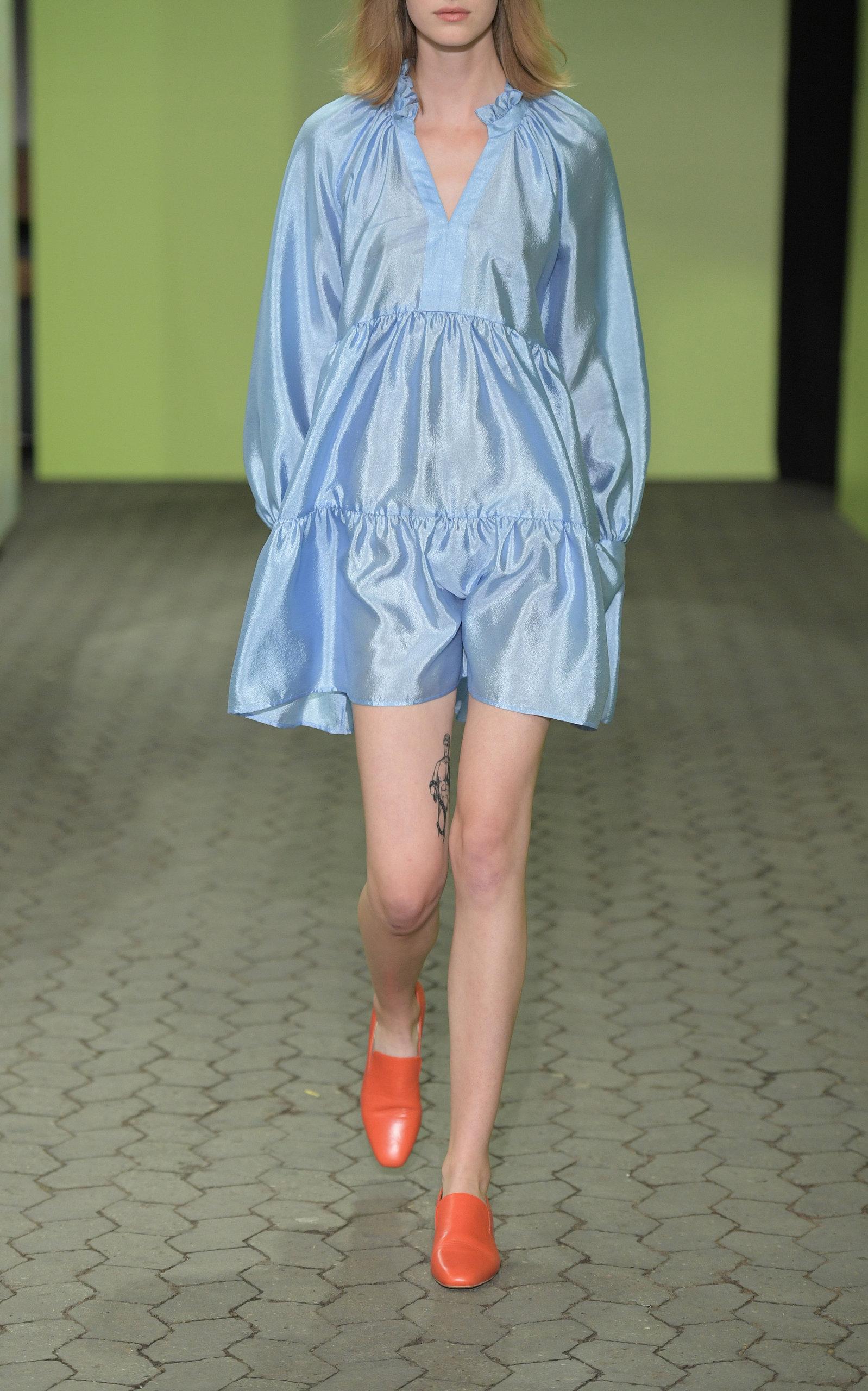 Stine Goya Jasmine long sleeve mini dress