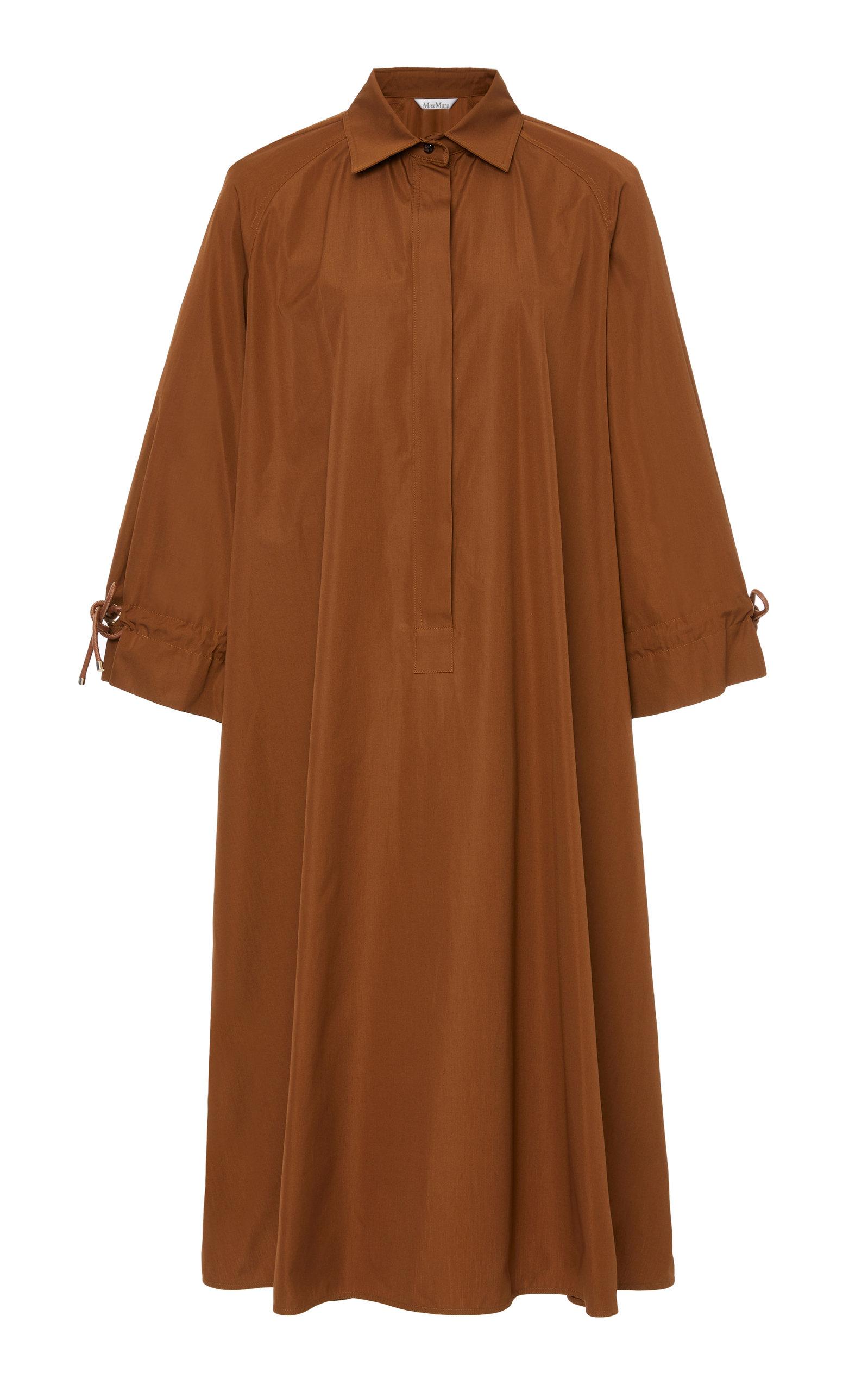 Max Mara Dresses COTTON-POPLIN SHIRT DRESS