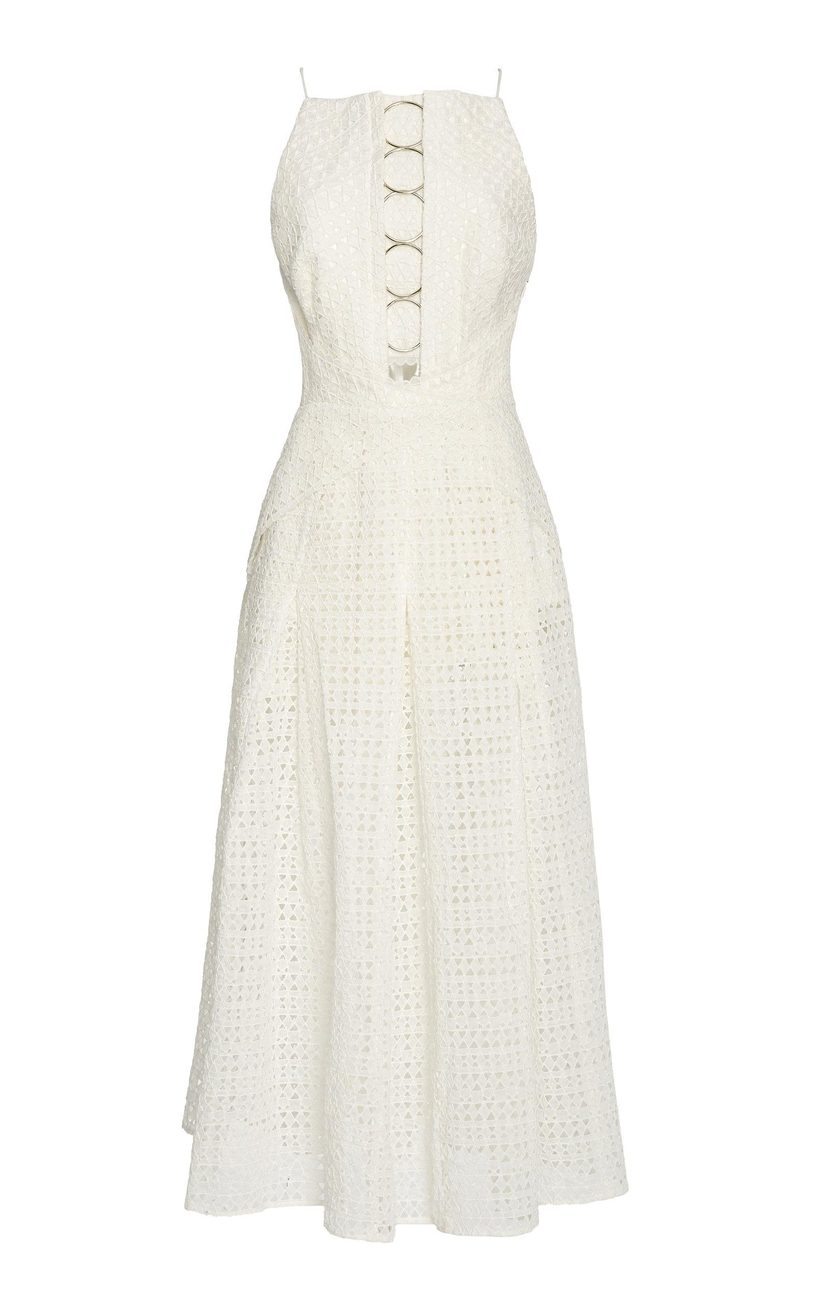 Acler Eden sleeveless maxi dress