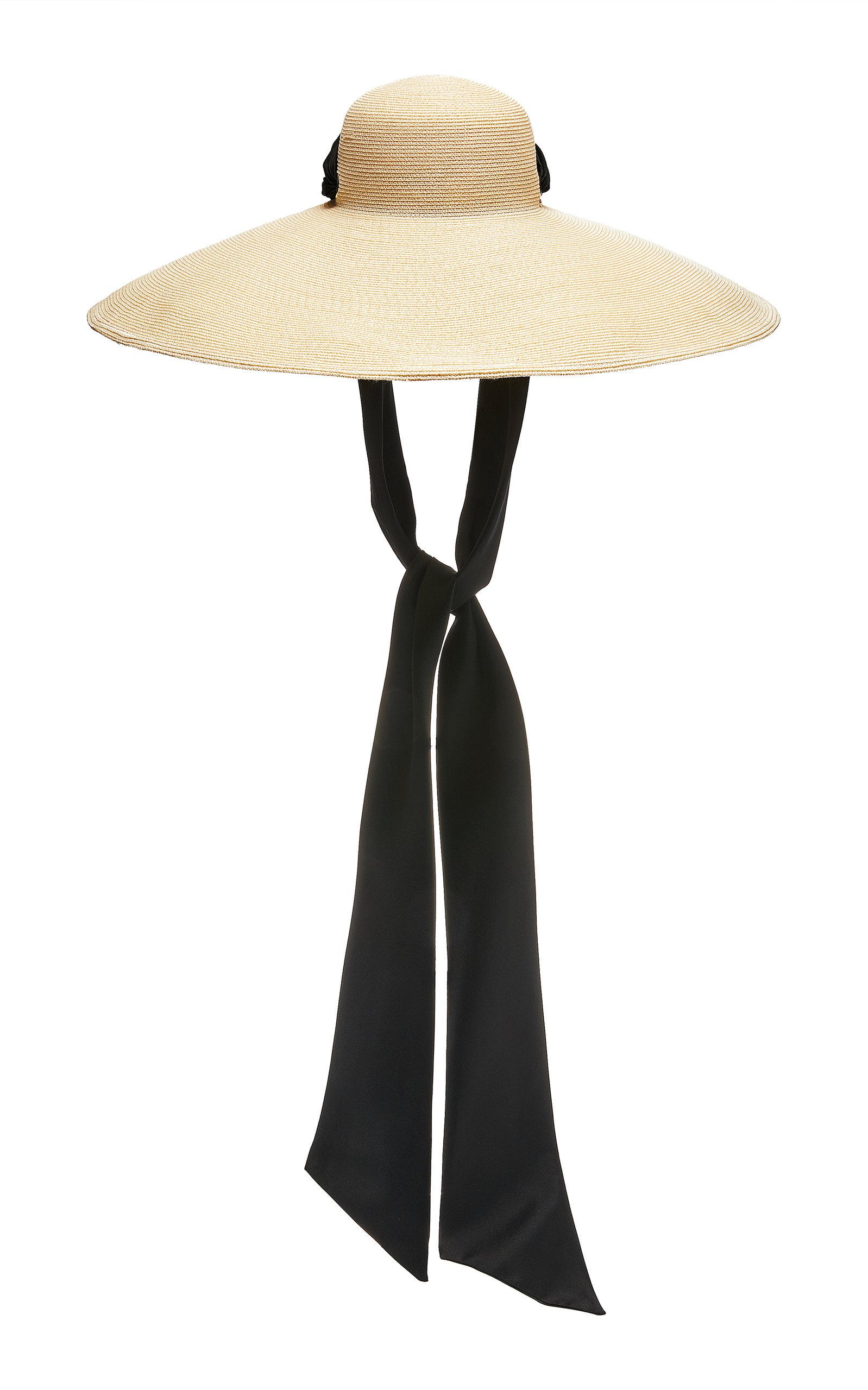 3e78175906492 Eugenia Kim Veruschka CottonTrimmed Straw Hat in 2019