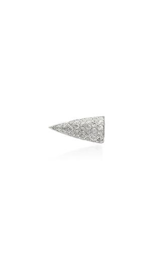 AKILLIS | Akillis 18K White Gold Diamond Earring | Goxip
