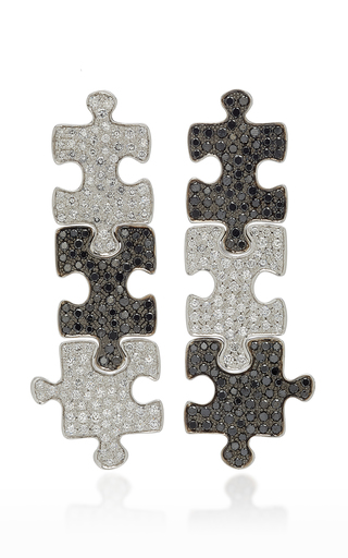 AKILLIS | Akillis 18K Gold Diamond Drop Earrings | Goxip