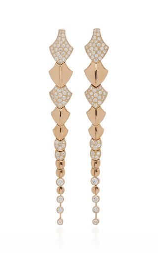 AKILLIS | Akillis Python 18K Gold Diamond Earrings | Goxip