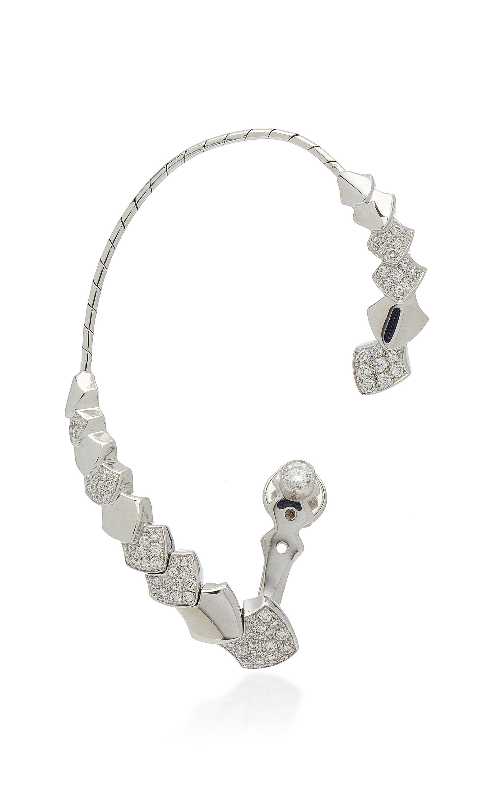 1f014b350 Python 18K Gold Diamond Ear Cuff by Akillis | Moda Operandi