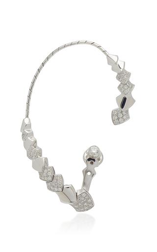 AKILLIS | Akillis Python 18K Gold Diamond Ear Cuff | Goxip