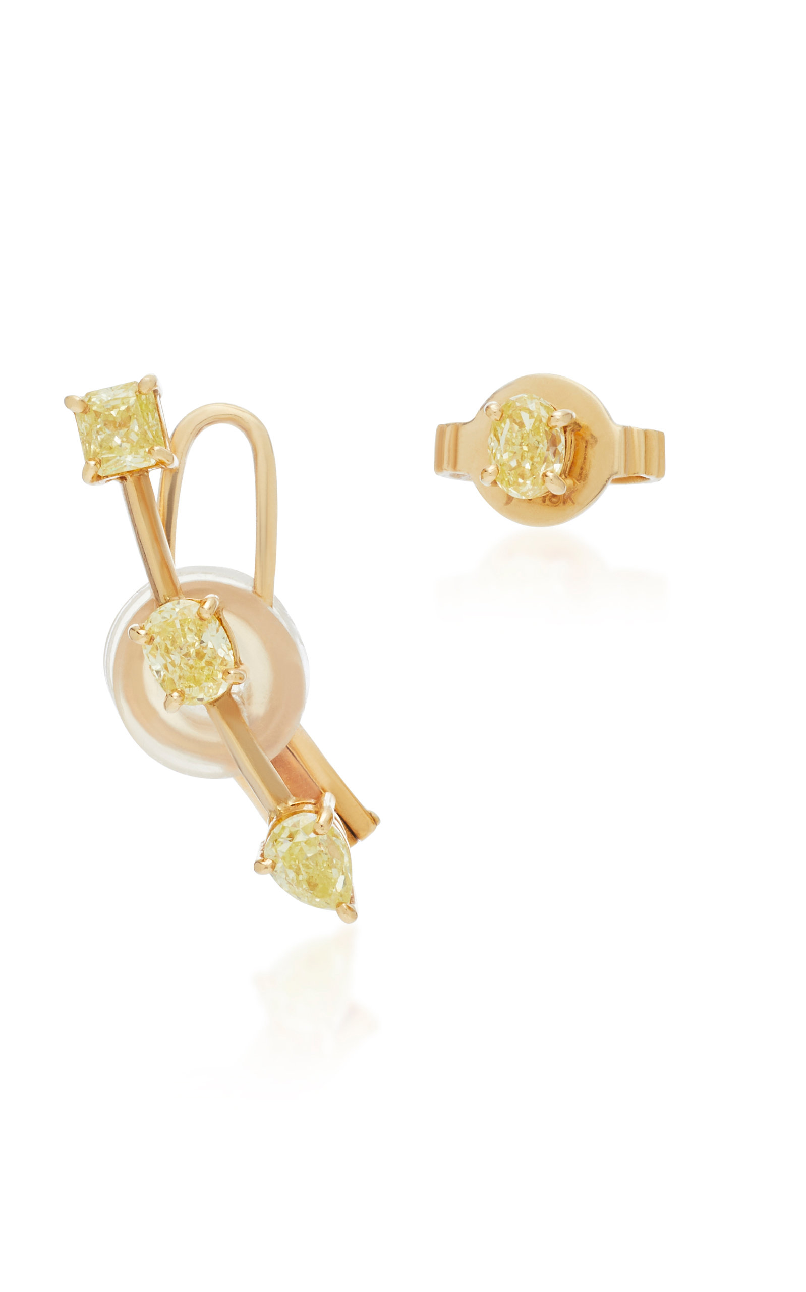 JACK VARTANIAN 18K Gold Diamond Earrings in Yellow