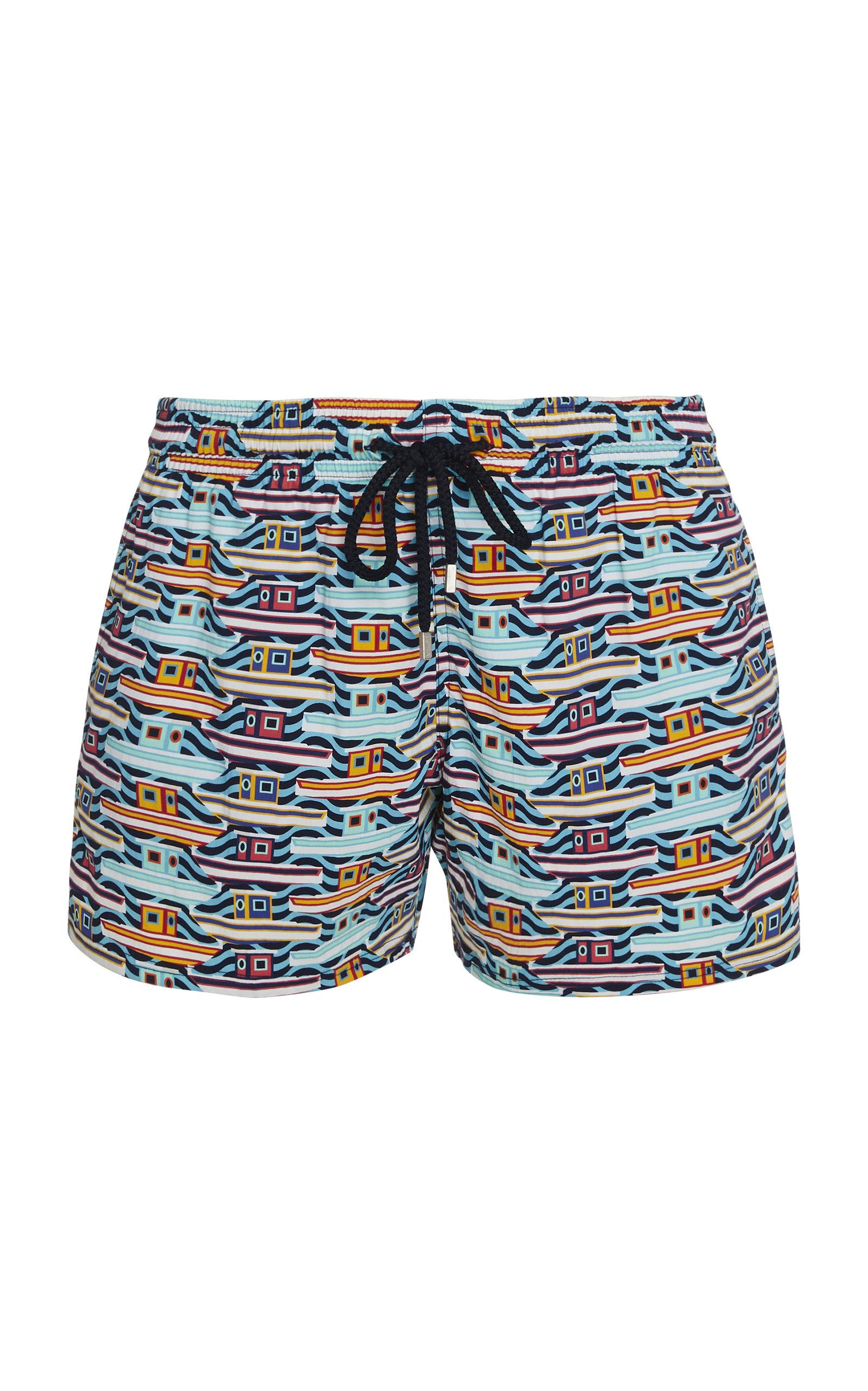 af2293eff6 Mykonos Printed Swim Shorts by Vilebrequin | Moda Operandi