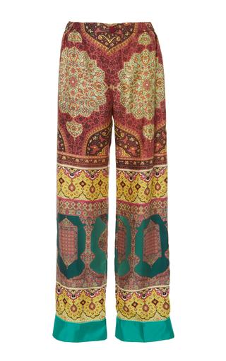 CABANA | CABANA Printed Silk Trousers | Goxip