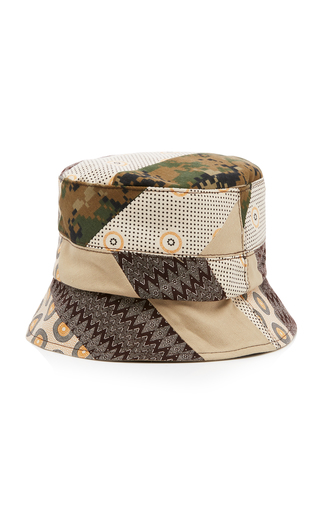 7887eff60cb00 Albertus SwanepoelExclusive Patchwork Canvas Bucket Hat