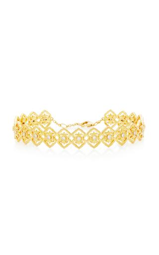 COLETTE JEWELRY | Colette Jewelry Motif 18K Gold And Diamond Bracelet | Goxip