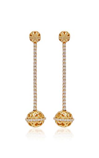 COLETTE JEWELRY | Colette Jewelry 18K Gold Diamond Earrings | Goxip