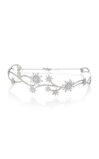 COLETTE JEWELRY | Colette Jewelry 18K White Gold Diamond Hand Piece | Goxip